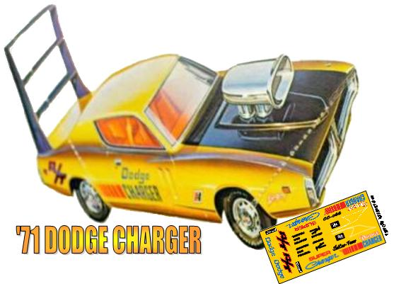 "CC-066 ""SUPER CHARGER"" 1971 Dodge Charger"