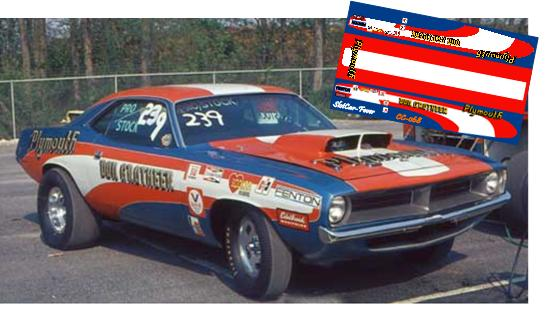 CC-068 Don Grotheer Plymouth Barracuda