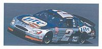 100007-RW #2 Rusty Wallace Miller Light Ford Taurus