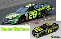 SCF1040 #28 Kenny Wallace Illinois Corn Growers Camry