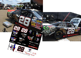 SCF1056 #28 JJ Yeley Texas 28 Spirits Stage Challenger