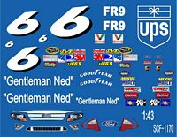 SCF1170 #6 David Ragan Ned Jarrett Tribute Car
