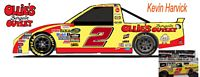 SCF1181 #2 Kevin Harvick Ollie's Bargain Outlet Camping World Chevy Truck