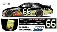 SCF1184 #66 Michael McDowell 'RELENTLESS HOPE' Camry
