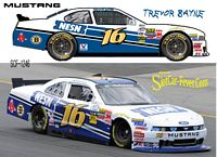 SCF1246 #16 Trevor Bayne NESN Nationwide Mustang