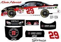 SCF1254 #29 Kevin Harvick Jimmy Johns Chevy