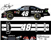SCF1286 #48 Jimmie Johnson 2012 Kobalt Chevy