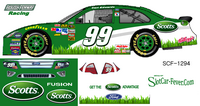 SCF1294 #99 Carl Edwards Scott's Lawn Care 2011 Ford Fusion