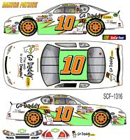 SCF1316 #10 Danica Patrick Go Daddy Chevy Fantasy Car