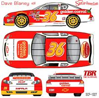 SCF1327 #36 Dave Blaney Golden Corral 2012 Chevy