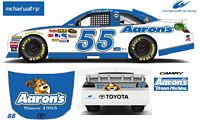 SCF1352 #55 Michael Waltrip 2012 Aaron's Dream Machine Camry