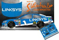 SCF1434 #1 Jamie McMurray 2014 Linksys Chevy