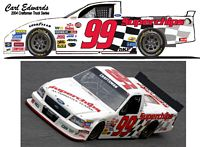SCF1458 #99 Carl Edwards 2004 Craftsman Superchips Ford Truck