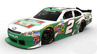 SCF1459 #2 Elliot Sadler Hunt Brothers Pizza Nationwide Chevy