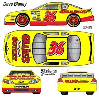 SCF1474 #36 Dave Blaney Ollie's Bargain Barn 2012 Chevy