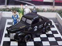 "1521SC #2 Bill Blair ""Legendary Flat Head Fords"" 1:64 Slot Car"