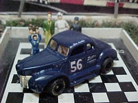 "1548SC RTR #56 Gary Lewallen Restored Car ""Legendary Flathead Fords 1:64 scale slot car"