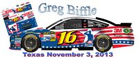 SCF1756 #16 Greg Biffle Hire Our Heroes 2013 Ford