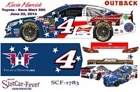 SCF1783 #4 Kevin Harvick Budweiser/Outback 2014 Chevy ran TOYOTA - SAVE MART 350 Jun. 22, 2014