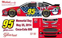 SCF1861 #95 Michael McDowell JPO Absorbents 2014 Ford
