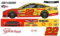 SCF1871 #22 Joey Logano Shell Pennzoil 2014 Ford Fusion