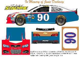 SCF1888 #90 David Stremme drove the renumbered #90 (one race deal usually #33) at Richmond.