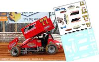 1RC-006-C #77 Arron Ott  Al Hamilton sprint car at Williams Grove