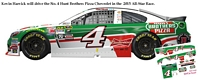 SCF2091 #4 Kevin Harvick Hunt Brothers Pizza 2015 Chevy