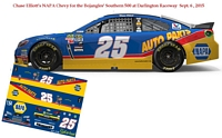 SCF2108 #25 Chase Elliott 2015 NAPA Chevy that will run September 6, 2015 at the Bojangles Southern 500 Darlington Raceway