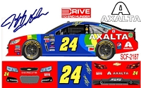 SCF2187 #24 Jeff Gordon will drive the rainbow colored 2015 Chevy at Bristol in August.