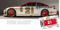 SCF2598 #21 Ryan Blaney 2016 Wood Brothers Ford.
