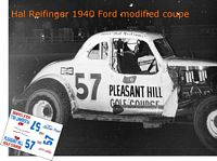 SCF2889 #57 Hal Reifinger 1940 Ford modified coupe