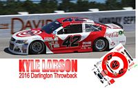 SCF2892#42 Kyle Larson retro look at Darlington 2016