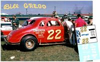 SCF2977 #22 Bill Greco modified coupe