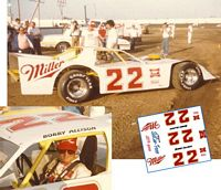 SCF3001 #22 Bobby Allison at Cedar Rapids, Iowa......1983