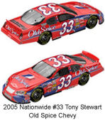 SCF_319 #33 Tony Stewart 2005 Nationwide Old Spice Chevy