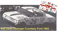 SCF3592 #26 Darel Dieringer Courtesy Ford 1962 Ford