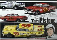 164-59_834 #59 'Tiger' Tom Pistone '59 Ford Thunderbird kit