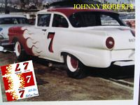 SCF_862 #7 Johnny Roberts 1957 Ford