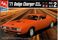 AMT_30054 '71 Dodge Charger Street Machine model kit (1:25)