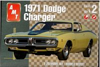 AMT_31253 1971 Dodge Chargers model kits (1:25)