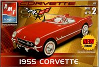 AMT_31823 1955 Corvette model kit (1:25)