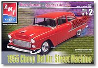 AMT_31931 '55 Chevy Bel Air Street Machine (1:25)
