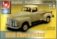 AMT_31956 1950 Chevy Pickup SNAPFAST (1:25)