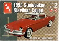 AMT_38110 1953 Studebaker Starliner Coupe model kit (1:25)
