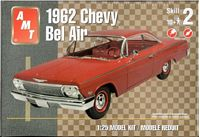 AMT_38218 1962 Chevy Bel Air model kit (1:25)