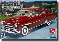 AMT_38274 '51 Chevy Fleetline -'Classic' series (1:25)