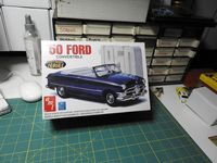 AMT_38451 1950 Ford Convertible 3n1 NOSTALGIA Series (1:25)