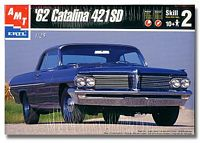AMT_6134 '62 Pontiac Catalina 421 SD Model Kit