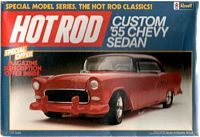 AMT_7111 Custom '55 Chevy Sedan model kit (1:25)